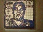 Andre the Giant, de Shepard Fairey par Invader