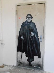 Jef Aerosol, Le street art rend hommage à l'Abbé Pierre, Neuilly Emmaüs Avenir, janvier 2013